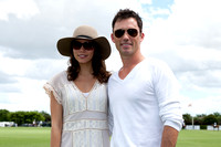 Michelle Woods and Jeffrey Donovan