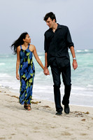Ivo Karlovic with wife Alsi