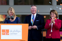 CEO Kathy Ramsberger, Orlando Mayor Buddy Dyer, Orange County Mayor Theresa Jacobs