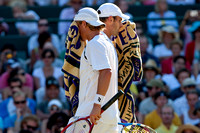 Hewitt and Roddick Wimbledon