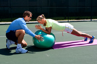 Mark Wellington and Victoria Azarenka