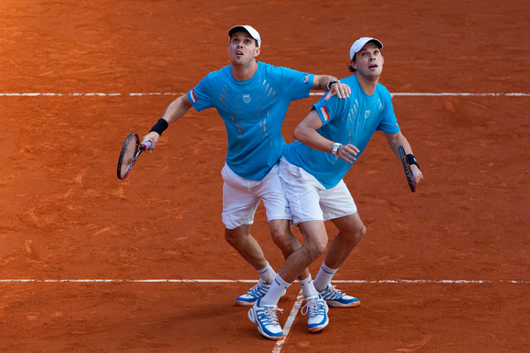 Mike and Bob Bryan Madrid