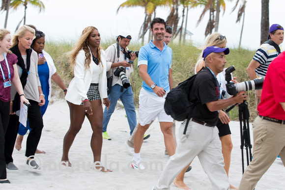 Serena Williams And Patrick Mouratoglou 2014 Serena Williams And Patrick