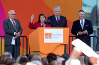 Orange County Mayor Theresa Jacobs, Former Mayor Rich Crotty, Orlando Mayor Buddy Dyer